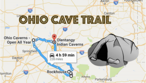 Map Of Lakeside Ohio This Map Shows the Shortest Route to 7 Of Ohio S Most Incredible