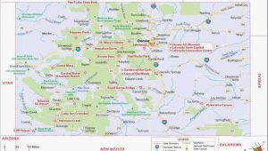 Map Of Canon City Colorado Southwest Colorado Map Co Vacation