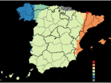 Map Of Languages In Spain Spain Wikipedia