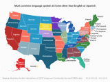 Map Of Languages In Spain This Map Shows the Most Commonly Spoken Language In Every Us State