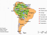 Map Of Languages Spoken In Europe This Map Of south America Show the Variety Of Languages