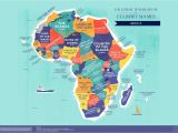 Map Of Libya and Europe World Map the Literal Translation Of Country Names