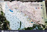 Map Of Ligurian Coast Italy Italian Riviera Map Stock Photos Italian Riviera Map Stock Images