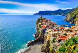 Map Of Ligurian Coast Italy Italian Riviera tourist Map and Guide