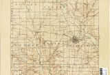 Map Of Logan County Ohio Ohio Historical topographic Maps Perry Castaa Eda Map Collection