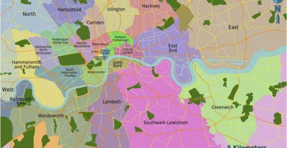 Map Of London England Neighborhoods Map London Uk Neighborhoods Uk Map