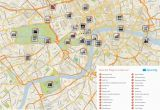 Map Of London England Neighborhoods Map Of London with Must See Sights and attractions Free