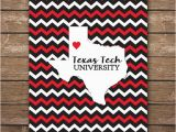 Map Of Lubbock Texas Digital Texas Tech University Map Art Ttu Printable Wall Art