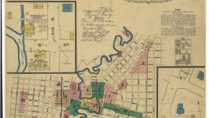Map Of Lumberton Texas Historic Maps Show What Downtown San Antonio Looked Like Back In