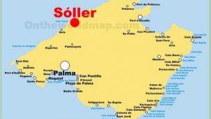 Map Of Mallorca Spain Pinterest