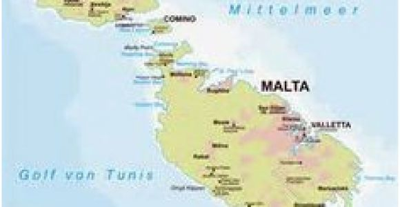 Map Of Malta Italy 11 Best Malta Map Images Malta Map Malta island Location Map