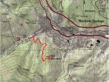 Map Of Manitou Springs Colorado Red Mountain Hiking Pinterest Hiking Mountains and Mountain