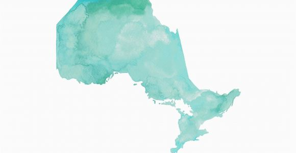 Map Of Maritime Canada Ontario Map Ontario Canada Map Canada Gift Ontario Map