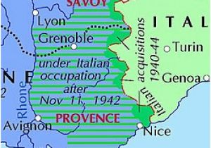 Map Of Menton France Italian Occupation Of France Wikipedia