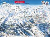 Map Of Meribel France Download the La Plagen Piste Map In High Resolution today