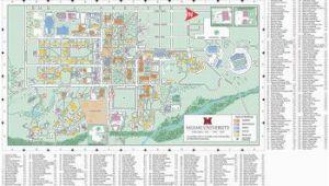 Map Of Miami Ohio Oxford Campus Map Miami University Click to Pdf Download Trees