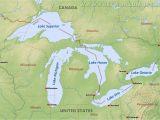 Map Of Michigan and Canada United States Map Michigan Inspirationa Map the United States with