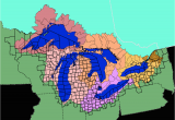 Map Of Michigan and Great Lakes Facts and Figures the Great Lakes Us Epa