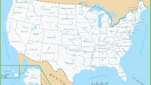 Map Of Michigan Lakes and Rivers United States Map Rivers Save Map the United States with Lakes Valid
