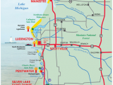 Map Of Michigan West Coast West Michigan Guides West Michigan Map Lakeshore Region Ludington