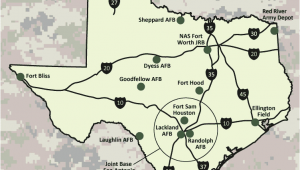 Map Of Military Bases In Texas Air force Bases Texas Map Business Ideas 2013
