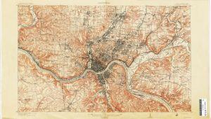 Map Of Minerva Ohio Ohio Historical topographic Maps Perry Castaa Eda Map Collection