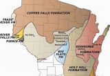 Map Of Minnesota and Wisconsin Map Glacial formations In Wisconsin Ideas In 2019 California