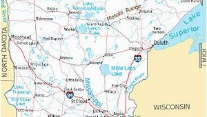 Map Of Minnesota by County Mesabi Range Wikipedia