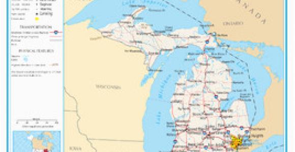 Map Of Mio Michigan Michigan Wikipedia