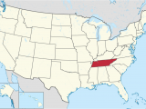 Map Of Mississippi and Tennessee Tennessee Wikipedia