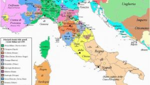 Map Of Monaco and Italy Map Of Italy In 1499 Interesting Maps Of Italy Karten Italia