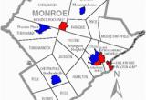 Map Of Monroe County Michigan Monroe County Pennsylvania Wikipedia