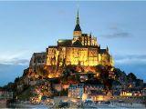Map Of Mont St Michel France Die Schonsten Klosterinseln Katholisch De