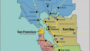 Map Of Monterey Bay California San Francisco Bay area High Resolution Map Monterey County