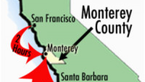 Map Of Monterey County California Maps Of Monterey County Travel Information and attractions