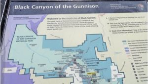 Map Of Montrose Colorado Map Of the Park Picture Of Black Canyon Visitor Center Black