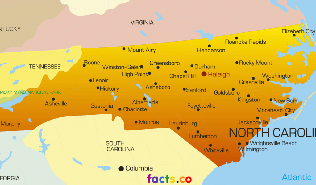 Map Of Morehead City north Carolina north Carolina Maps with Cities North Carolina Map With Cities on