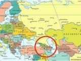 Map Of Mountains In Europe Caucasus Mountains Map Location Caucasus Mountains On