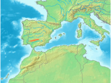 Map Of Mountains In Spain Sierra Morena Wikipedia