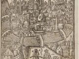 Map Of Nancy France 1634 Nicolas Tassin Map Nancy fortifications Meurthe Et Moselle