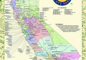 Map Of National Parks In California California State Park Maps