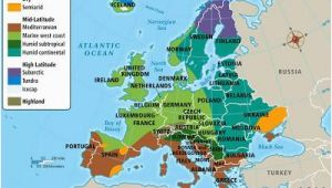 Map Of Netherlands and Europe Europe S Climate Maps and Landscapes Netherlands Facts