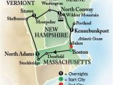Map Of New England States with Cities 6 Day Bus tour to Boston and New England Book Early and Save
