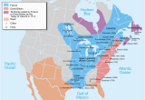 Map Of New France 1600 French Colonization Of the Americas Wikipedia