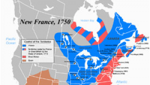 Map Of New France 1600 New France Wikipedia