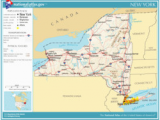 Map Of New York Canada Border Geography Of New York State Wikipedia
