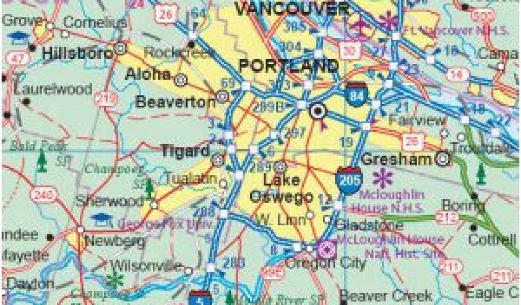 Map Of Newberg Oregon Mulino Oregon Map Oregon City Love