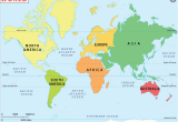 Map Of north America and Europe Free Maps for Kids World Map Continents World