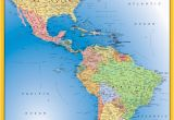 Map Of north America and Europe north America south America Map