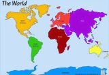 Map Of north America and Europe Printable World Map 7 Continents World Map Continents